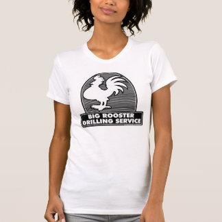 T-shirt Grande chemise du service 1B de perçage de coq