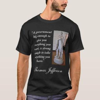 T-shirt Grande citation de gouvernement de Thomas