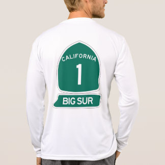 T-shirt Grande côte la plus belle de Sur - de Californie !