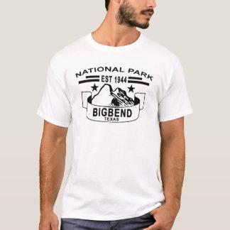 T-shirt GRANDE COURBURE TEXAS.png de PARC NATIONAL