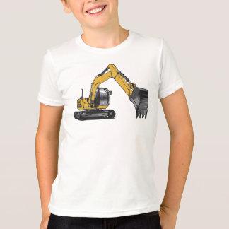 T-shirt Grande excavatrice de Caterpillar du garçon