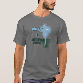 T-shirt Grande fan d'énergie renouvelable