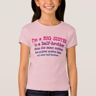 T-shirt Grande soeur au demi-frère
