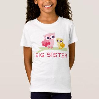 T-Shirt Grande soeur de hibou adorable