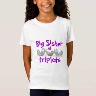 T-Shirt Grande soeur des triplets
