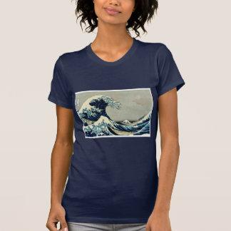 T-shirt Grande vague de Katsushika Hokusai outre de