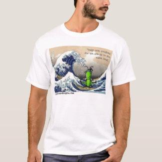 T-shirt Grande vague, petite sauterelle