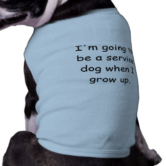 T-shirt Grandissez la chemise d'animal familier de chien d