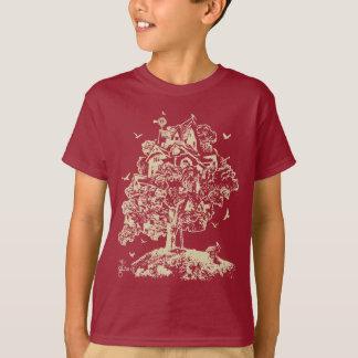 T-shirt Grandissez la chemise de cabane dans un arbre pour