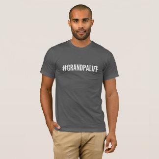 T-shirt #GRANDPALIFE de tee - shirt de Hashtag de la vie