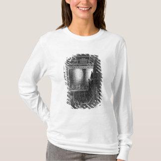 T-shirt Grands barils dans une brasserie