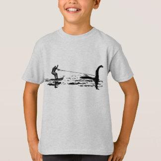 T-shirt Grands pied et Nessie