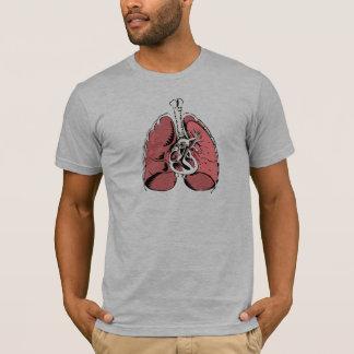 T-shirt Grands poumons roses