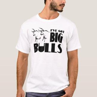 T-shirt Grands taureaux - agriculteur drôle