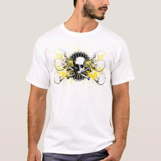 T-shirt Graphique 1850 peint par étoiles de crâne de sigma