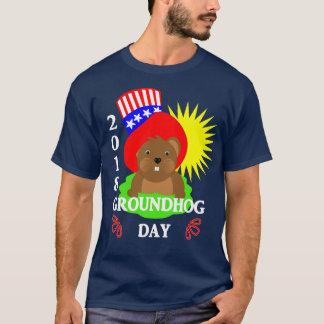 T-shirt Graphique 2018 patriotique de célébration de jour