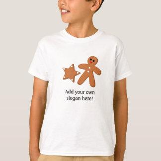 T-shirt Graphique de pain d'épice : Slogan personnalisable