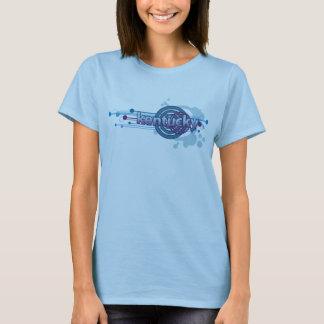 T-shirt graphique du Kentucky de cercle de bleus