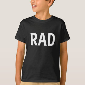 T-shirt graphique rad d'enfants