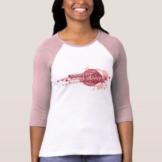 T-shirt graphique rose Jersey du Dakota du Sud de