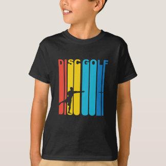 T-shirt Graphique vintage de golf de disque