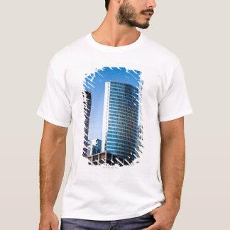 T-shirt Gratte-ciel brillants Chicago financière