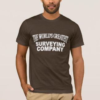 T-shirt Greatest Surveying Company du World's