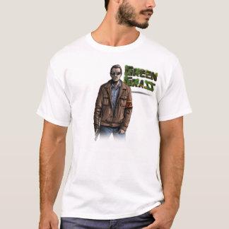 """T-shirt Green Grass """"Insp. Grégory"""""""
