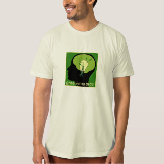 T-shirt Green your brain