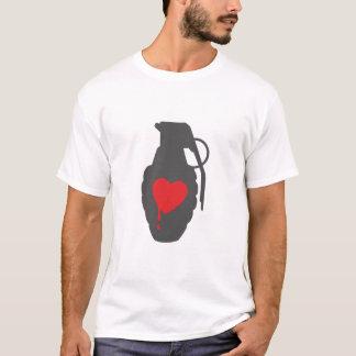 T-shirt Grenade d'amour - l'amour est un champ de bataille