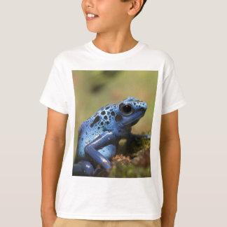 T-shirt Grenouille bleue de dard de poison