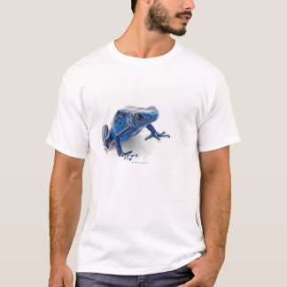 T-shirt Grenouille bleue de dard de poison (Dendrobates