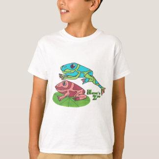 T-shirt Grenouille de saut