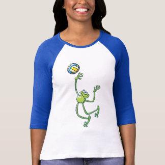 T-shirt Grenouille de volleyball
