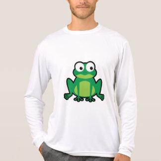 T-shirt Grenouille mignonne de bande dessinée