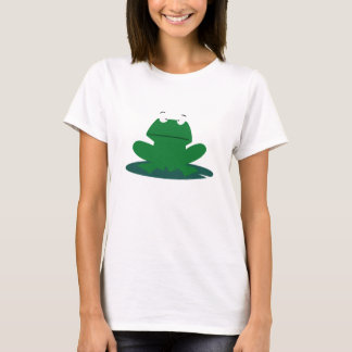 T-shirt Grenouille sur un Lilypad