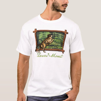 T-shirt griffé de Monet