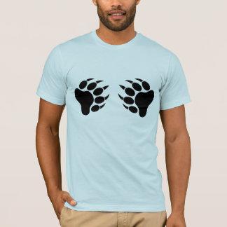 T-shirt Griffe d'ours de fierté d'ours noir (r)