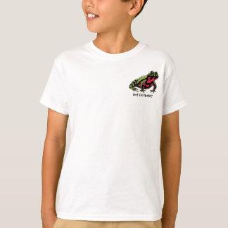 T-shirt Grillons obtenus (crapaud de ventre du feu)