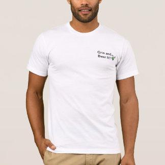T-shirt Grimace et bière il (T) des hommes