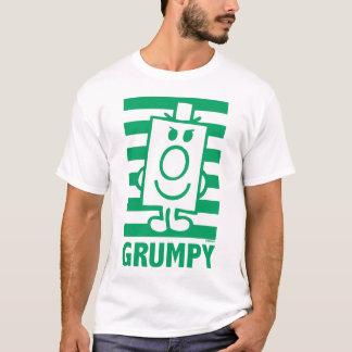 T-shirt Grimace malfaisante de M. Grumpy   et rayures