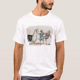 T-shirt Grimaldi et l'alpaga, dans la pantomime populaire