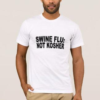 T-shirt Grippe de porcs : non cacher