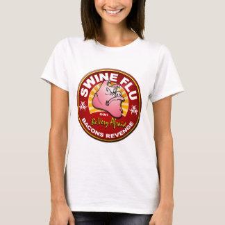 T-shirt Grippe de porcs - vengeance de lards !
