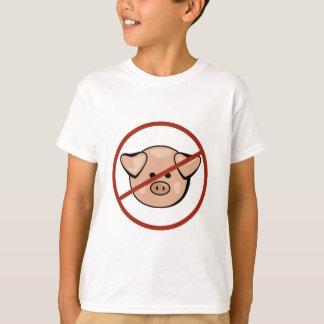 T-shirt Grippe/porc de porcs