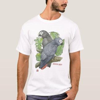 T-shirt Gris africains tropicaux