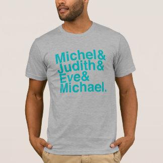 T-shirt Gris de bruyère de chemise de théoricien