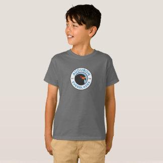 T-shirt Gris de la chemise des enfants de marais d'Audubon