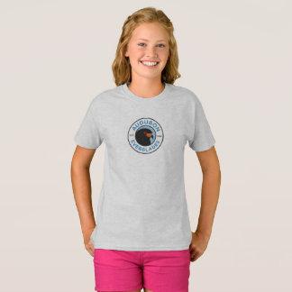 T-shirt Gris de la chemise des filles de marais d'Audubon
