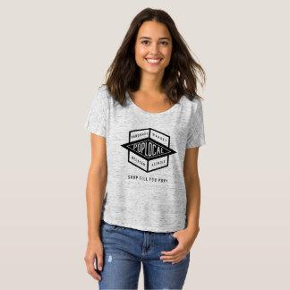 T-shirt Gris de PopLocal